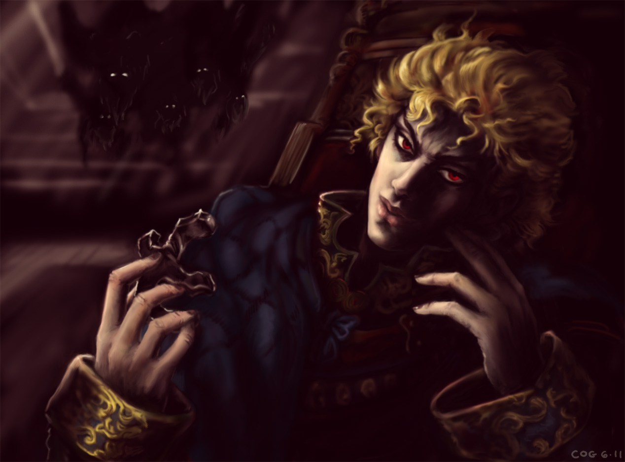 JJBA: Dio Brando Phantom Blood by cogdis
