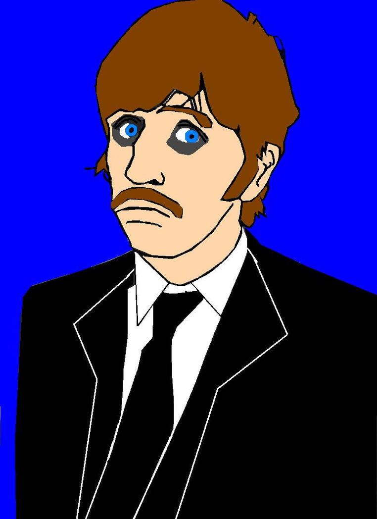 Ringo Starr S Ms Paint Drawings