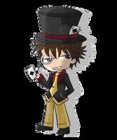 Mad Hatter Kaito Chibi by Torosiken-II