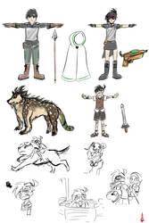 Hunters Au Ref Sheet by Torosiken-II