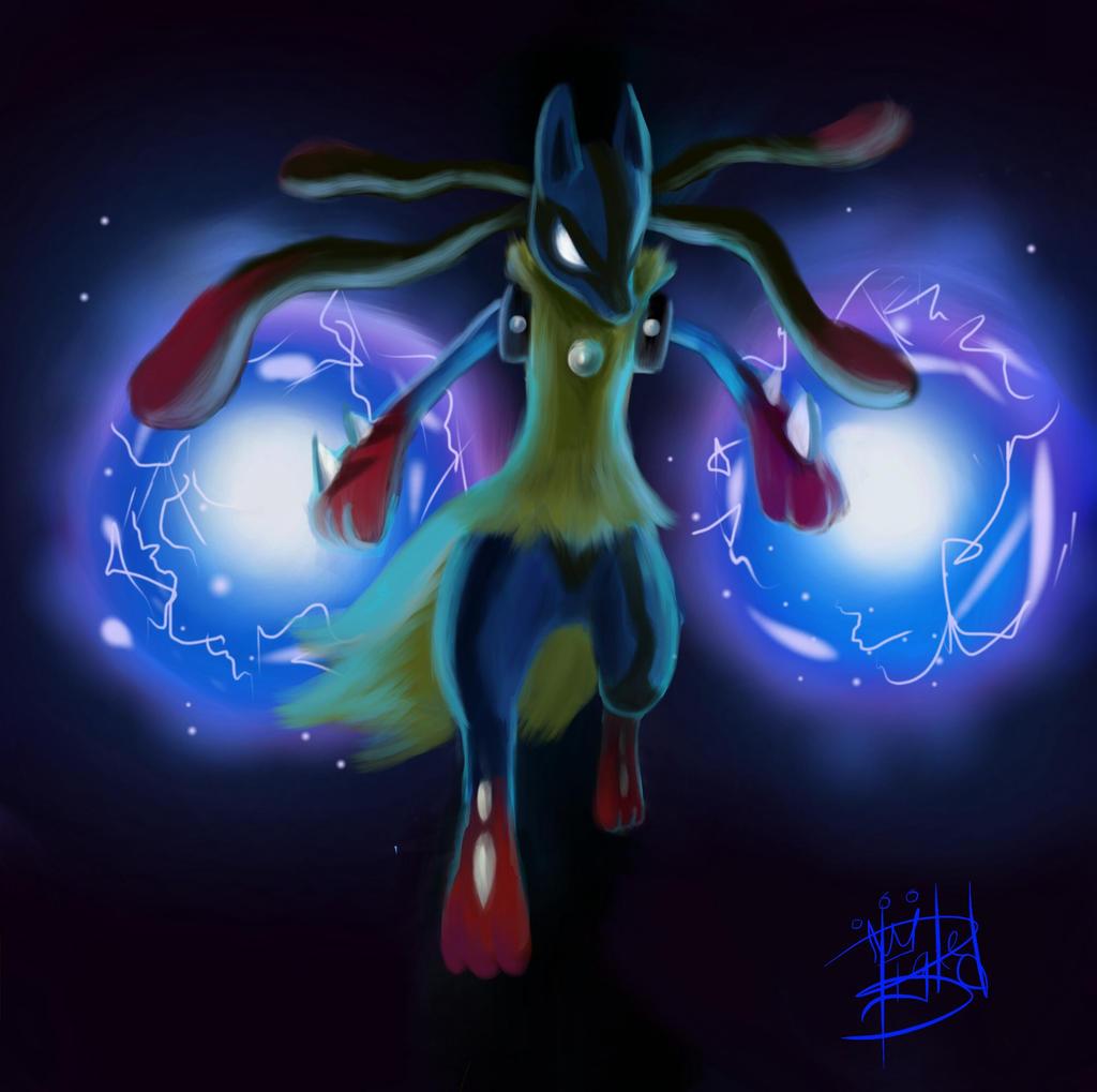 Image - Riley Lucario Aura Sphere.png | Pokemon Wiki | FANDOM ...