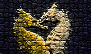 Seahorse Painting by Mysterytroll