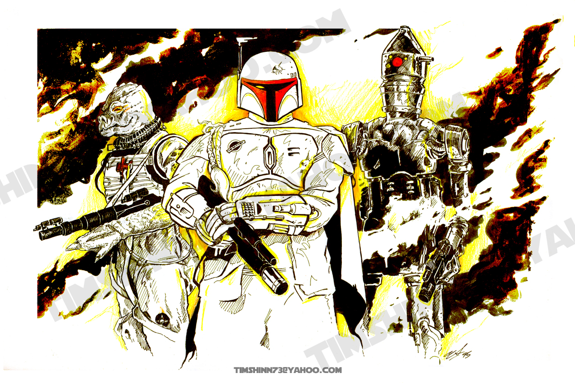Star Wars: Fett by timshinn73