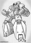Transformer Straxus BW