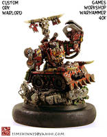 Warhammer 40k Ork Warlord by timshinn73