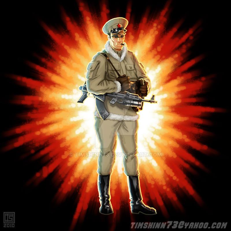 GI Joe Oktober Guard Brekhov 2 by timshinn73