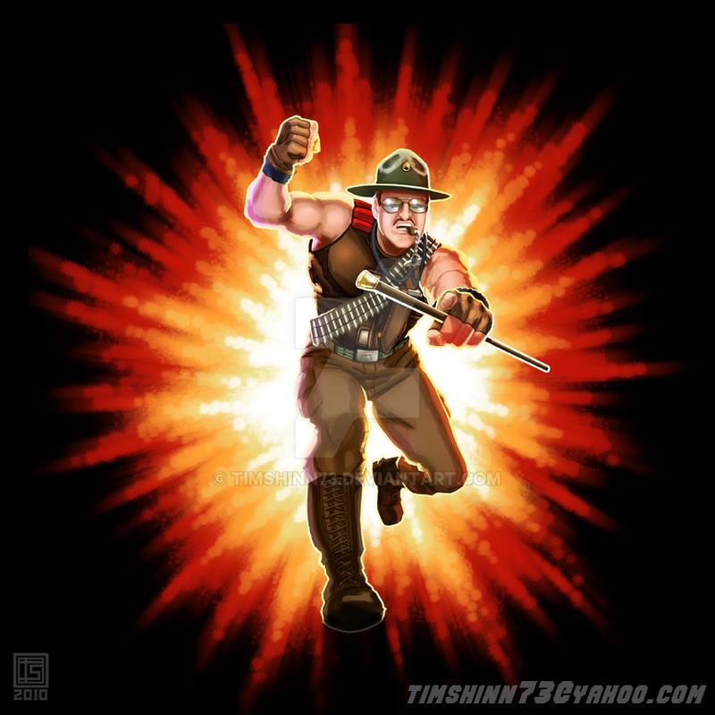 G.I. Joe Sergeant Slaughter 5 by timshinn73