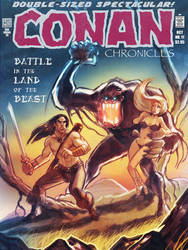 Conan vs The Beast II by timshinn73