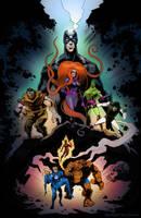 Fantastic Four by timshinn73