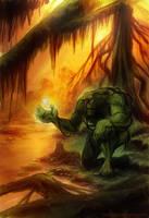 Swamp Thing by timshinn73