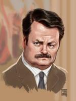 Ron F'ing Swanson by timshinn73
