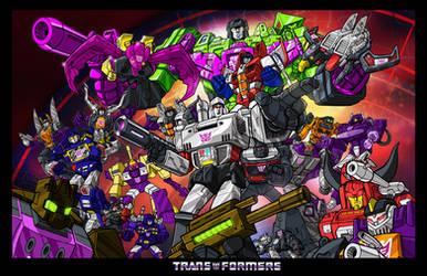 Decepticons by timshinn73