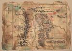 Wilderland Map From The Hobbit