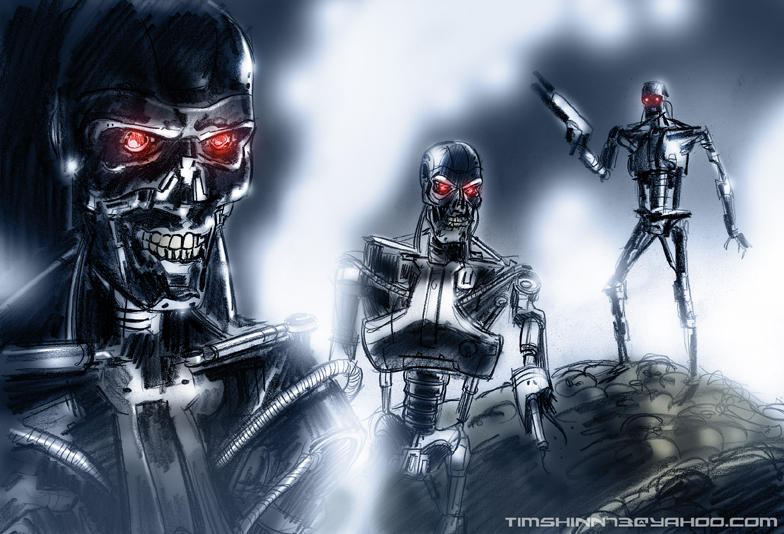 Terminators by timshinn73