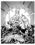 Usagi Yojimbo Inks
