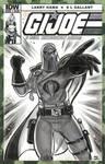 G.I. Joe Cobra Commander Sketch Cover Final
