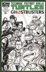 Ghostbusters TMNT Sketch Cover