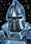 Battlestar Galactica BSG Cylon Sketch Card