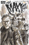 Mad Max Fury Road Sketch Cover