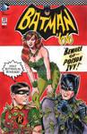Batman 66 Poison Ivy Sketch Cover 2