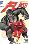 The Flash vs Gorilla Grodd Cover