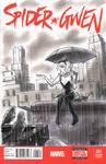 Spider Gwen Sketch Cover