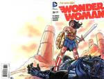 Wonder Woman Sketch Cover
