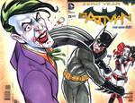 Batman VS Joker Sketch Cover