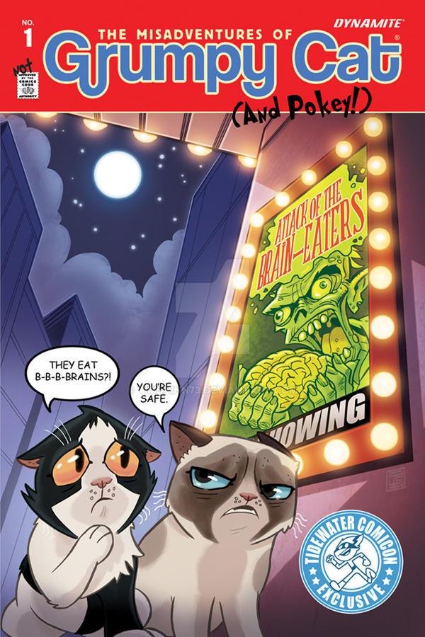 Grumpy Cat 1 Exclusive Tidewater Comicon Cover