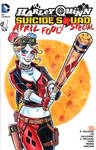 Harley Quinn Suicide Squad Sketch Cover