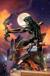 Green Arrow Rebirth #6 Cover