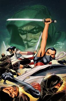 Green Arrow Rebirth #7 Cover