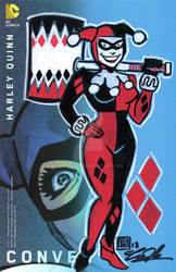 Harley Quinn Remarked Cover