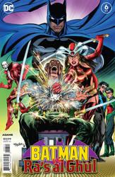 Batman Vs Ra's Al Ghul 6 Cover