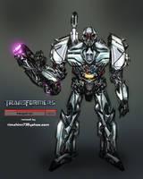 Movie Megatron Redux by timshinn73