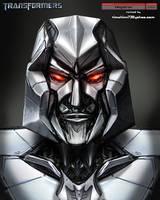 Movie Megatron Head Design by timshinn73