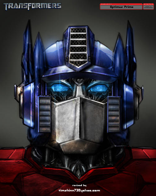 Movie Prime Head Design by timshinn73 on DeviantArt  Movie Prime Hea...