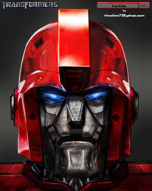 Ironhide Head Design by timshinn73
