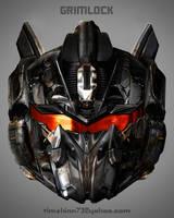 Grimlock Head Design by timshinn73
