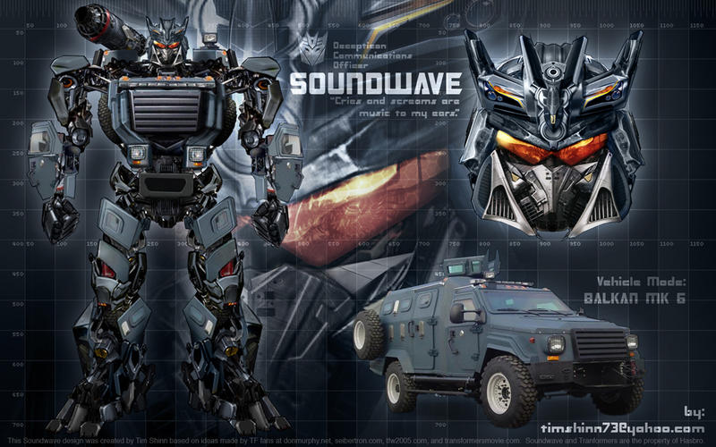 Soundwave Wallpaper by timshinn73