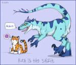 Raptor. and MeowMeow.
