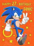 Sonic 27th Anniversary