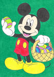 Easter Mickey Mouse