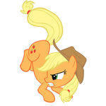 A Pillowfight With Applejack