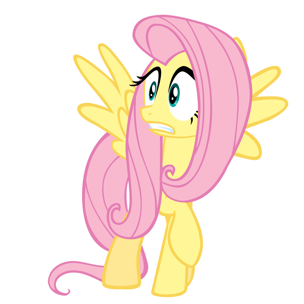You Startled Fluttershy by theaceofspadez