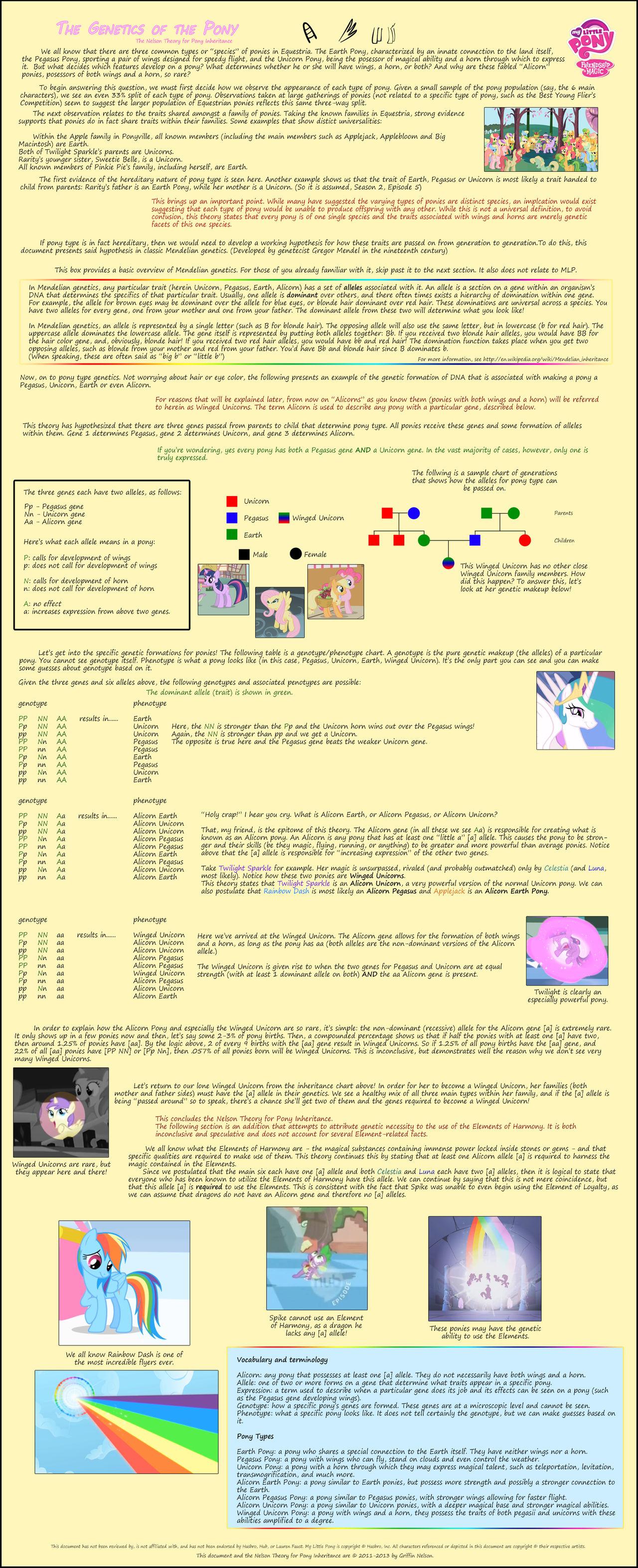 The Genetics of the Pony