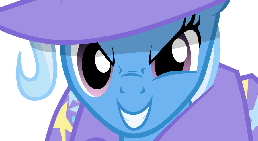 Quick Trixie Close-up by theaceofspadez