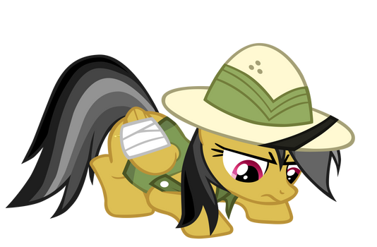 Daring Do Inspects a Trap