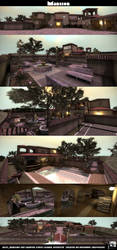 CS:GO de/cs_Mansion by Mavwave