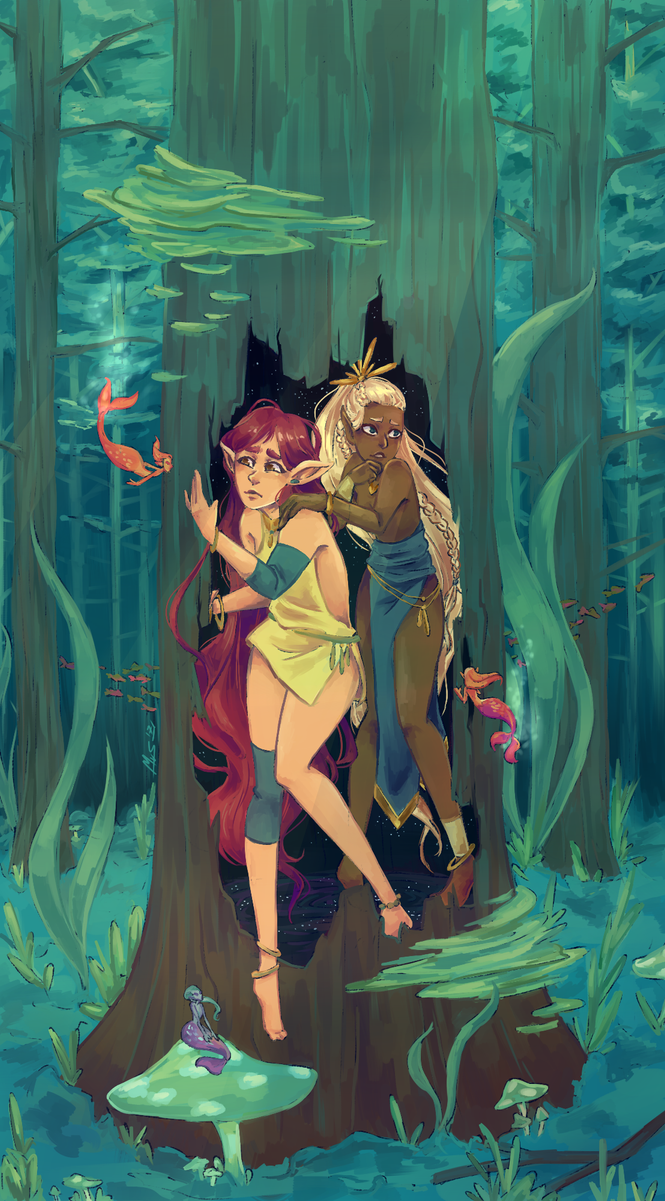 A first step into the Underwater Forest by whiny-hyena